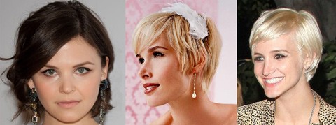Short Bridal Hair