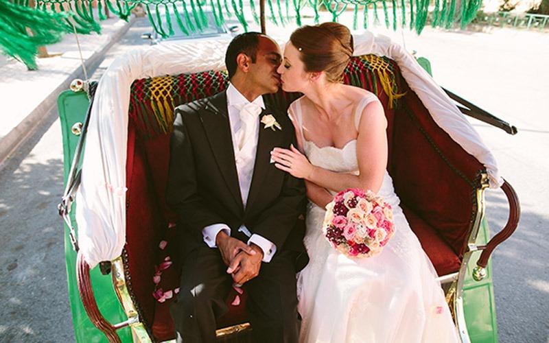 Real Irish Wedding: Kathy Walsh and Rishi Prasad