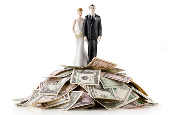 ... no holding back when it comes to the almighty wedding budget
