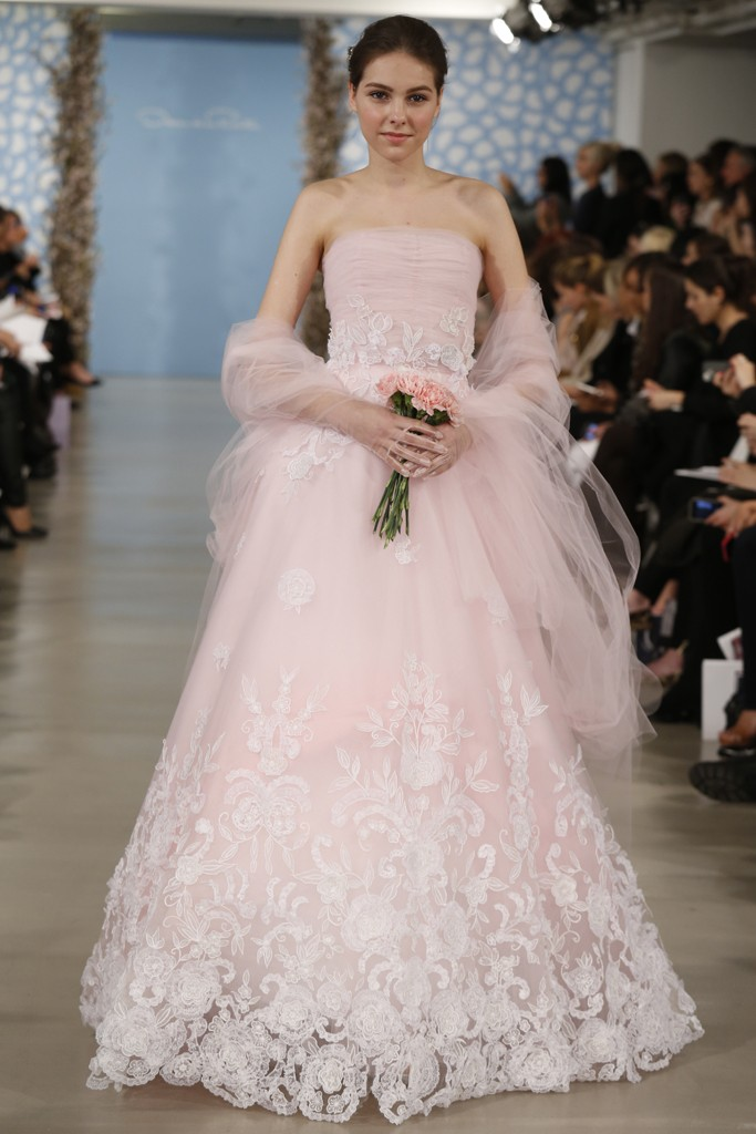 Pretty In Pink 8 Pink Wedding Dresses To Pine Over