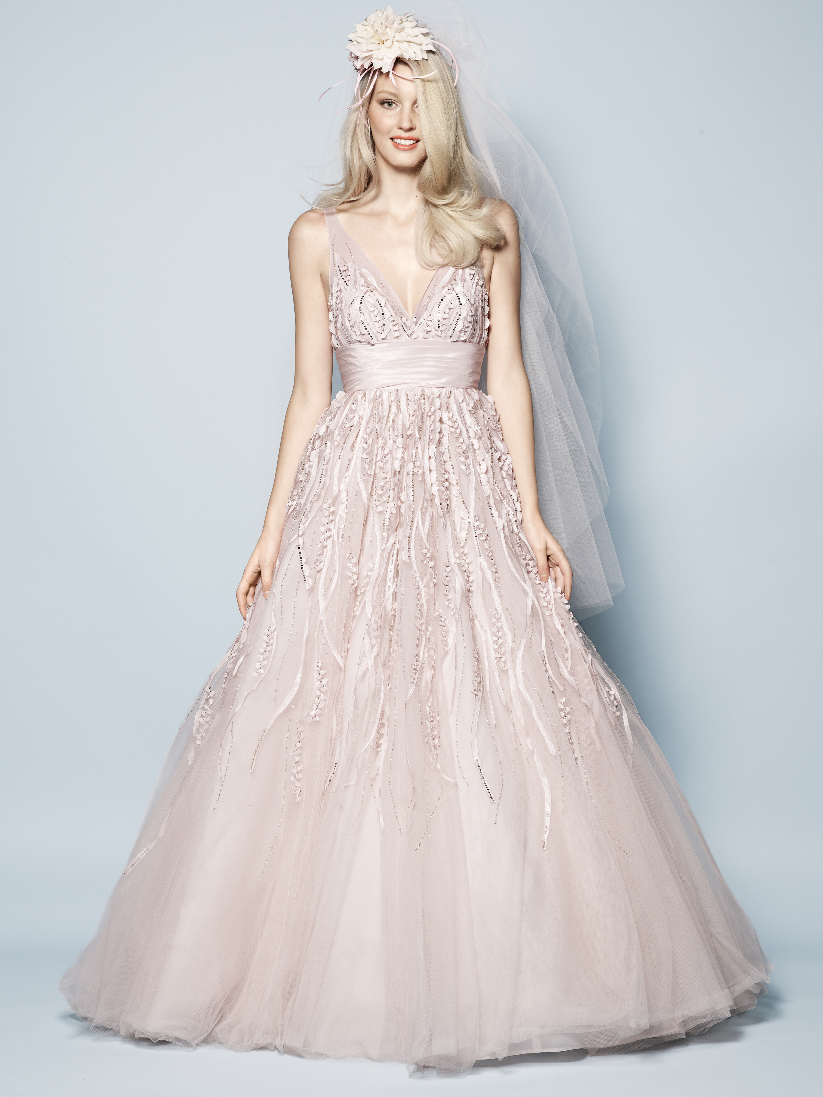 Pretty in pink 8 pink wedding dresses to pine over Ireland s