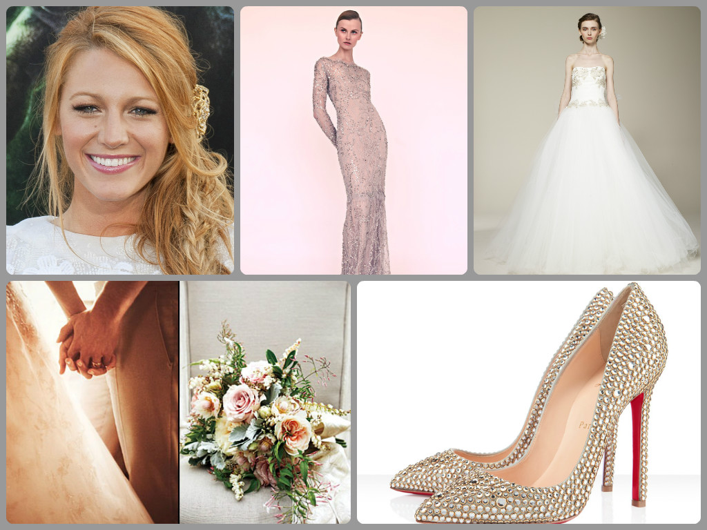 Look To The Stars Celeb Inspired Bridal Style Wedding