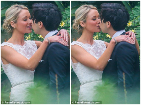 30 Rock actress Katrina Bowden's DIY  New York wedding