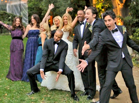 CaCee Cobb and Donald Faison's star studded wedding video
