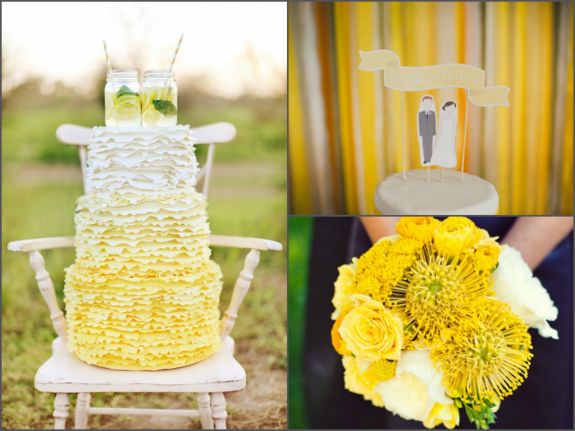 Mellow yellow - sunny wedding inspiration