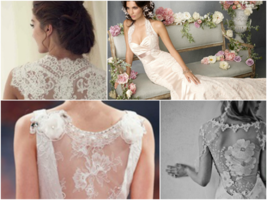Lacy Lady - six ways to wear lace on your wedding day