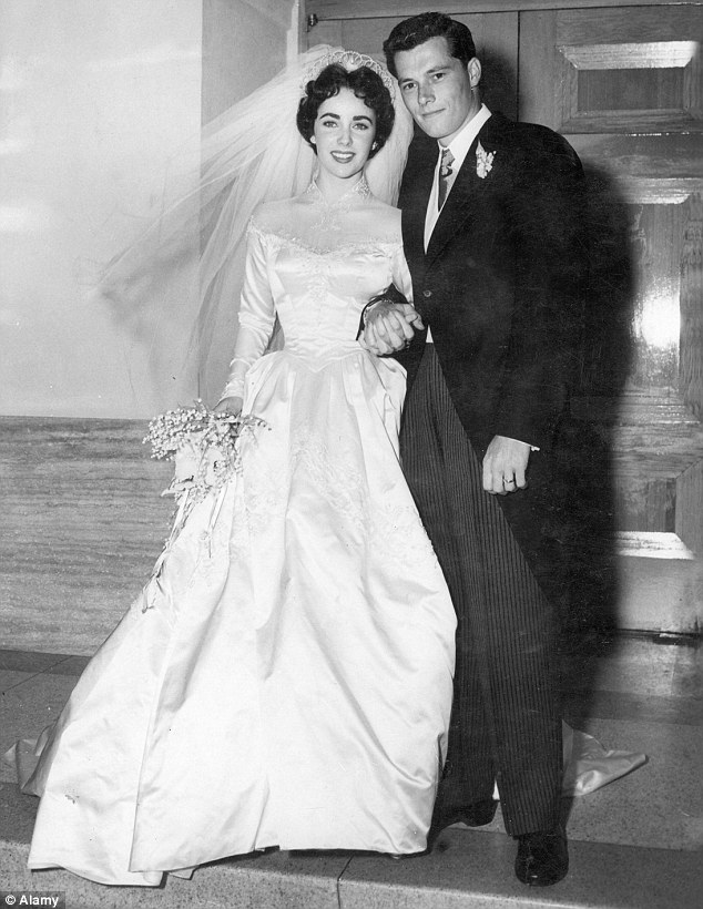 gallery elizabeth taylor first wedding dress