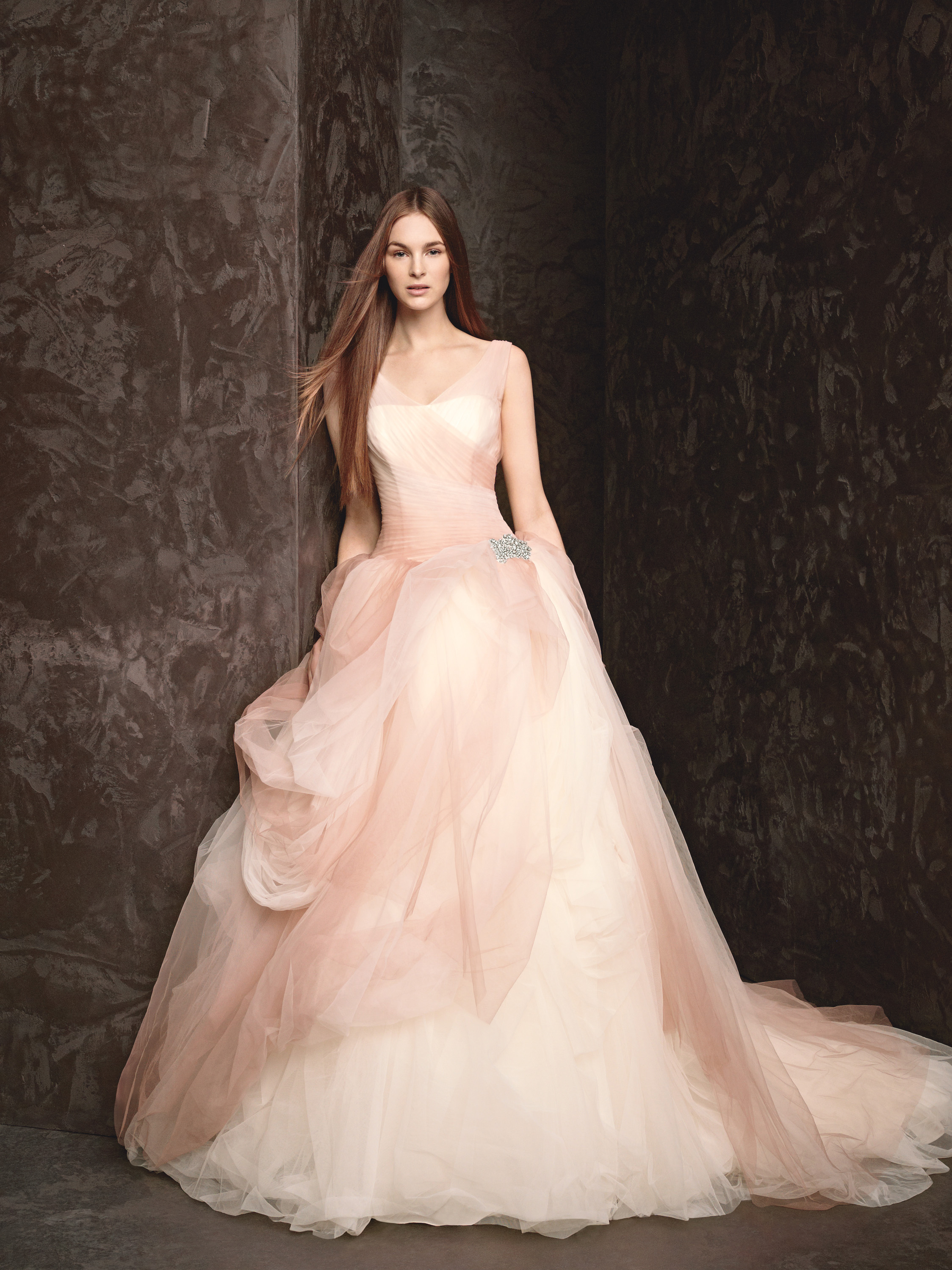 Pink Wedding Dresses Ireland : Spring wedding dress white by vera wang bridal gowns style