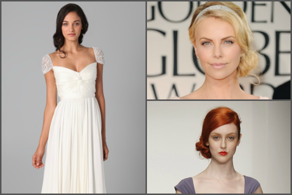 Reem Acra, Charlize Theron and Amsale 2013