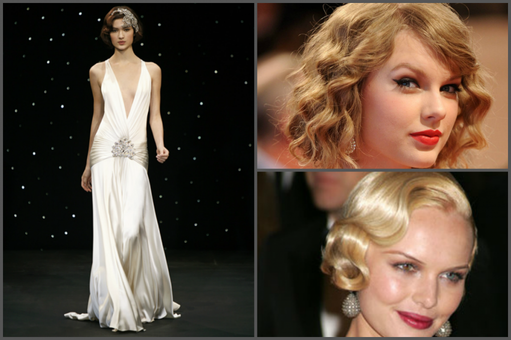 Jenny Packham sabine, Taylor Swift and Kate Bosworth
