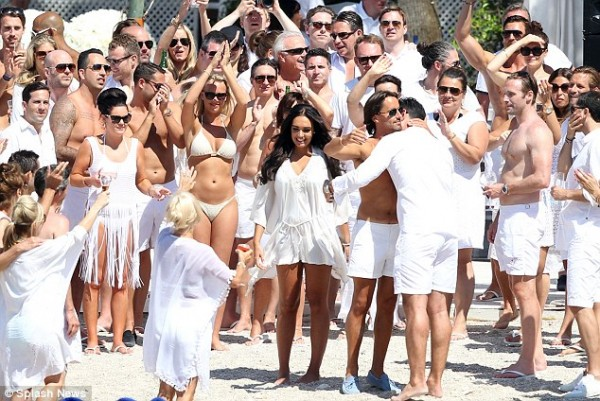 Tamara Ecclestone's £12million wedding