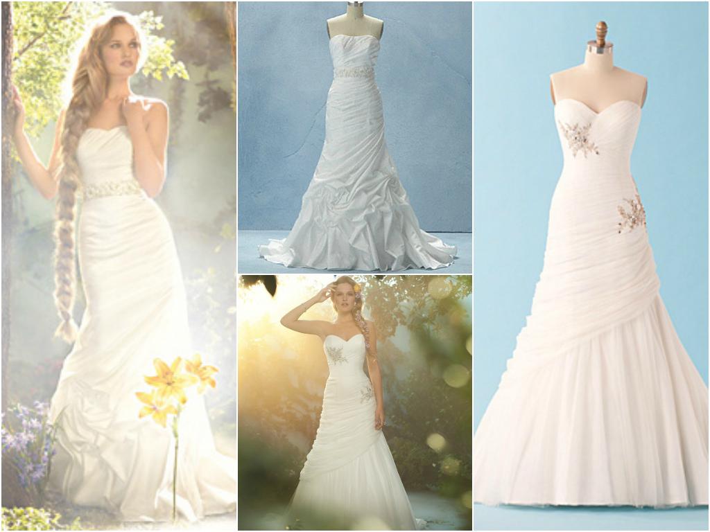 Disney princess bridal gowns liquid media rapunzel ombrellifo Choice Image