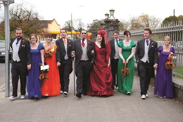 Real Irish Wedding Kinnitty Castle Hotel Co Offaly 5