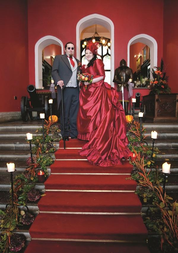 Real Irish Wedding Kinnitty Castle Hotel Co Offaly 7