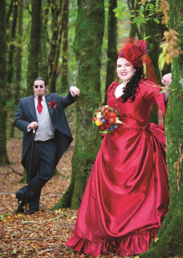 Real Irish Wedding Kinnitty Castle Hotel Co Offaly 6