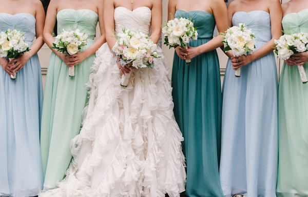 Multi maids – 30 dresses for every kind of bridesmaid