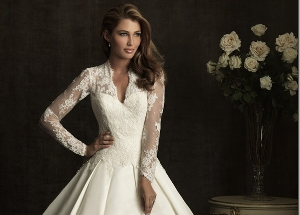 Wonderful winter wedding dresses