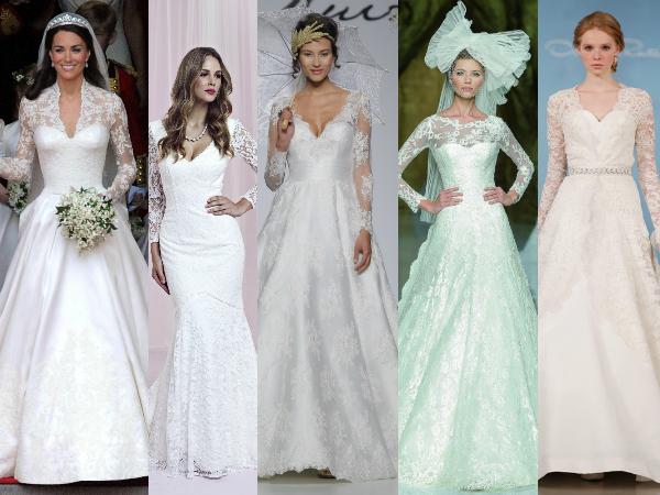 Kate Middleton, Charlotte Balbier, Carla Ruiz, Pronovias, Oscar De La Renta