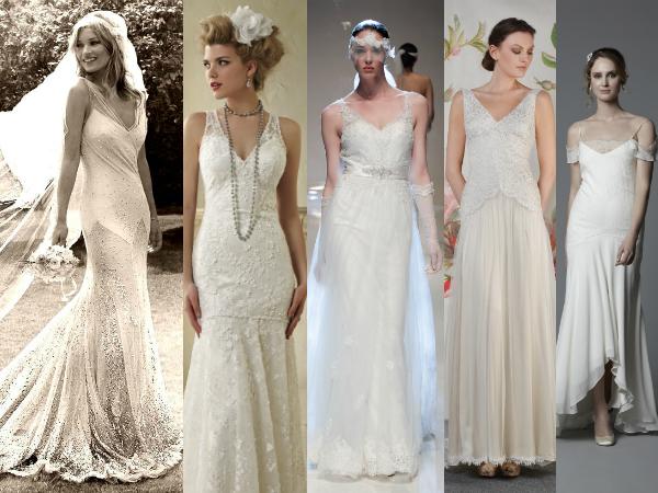 Kate Moss, Alfred Angelo, Annasul Y, Claire Pettibone, Circa Brides
