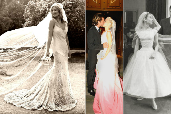Celebrity Wedding Dresses Ireland : Celebrity wedding dress inspiration