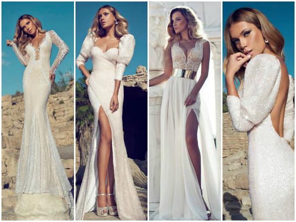 Julie Vino sexy wedding dresses