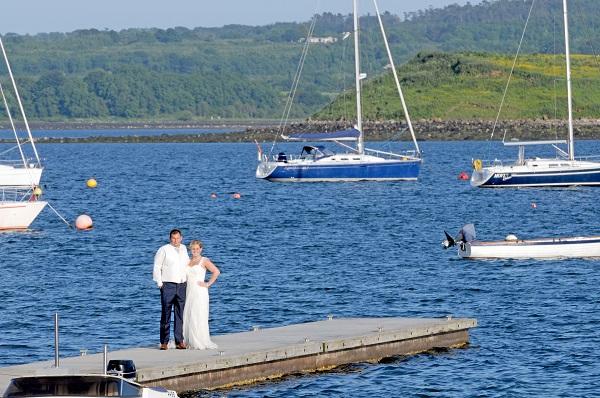 Real Irish Wedding Killyleagh Yacht Club 2