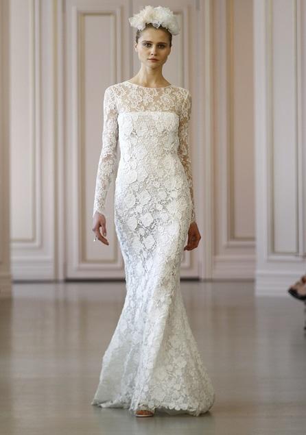 DE LA RENTA wedding dress