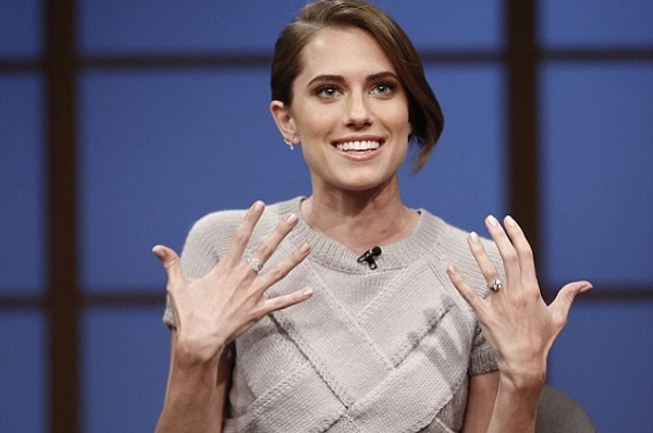 Girls Star Allison Williams reveals engagement ring and shock proposal details