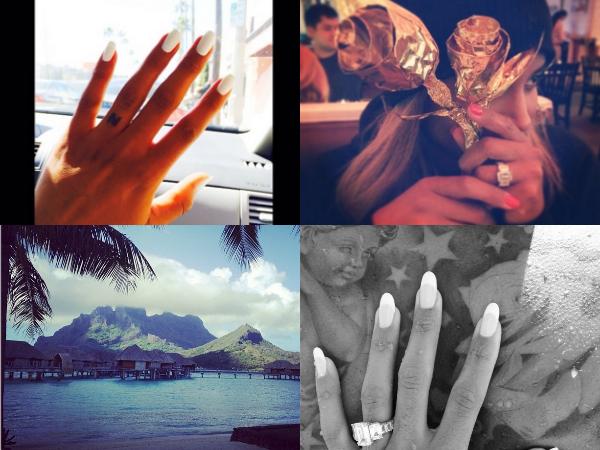 best engaged celebrities Ciara