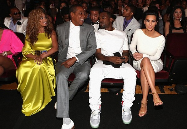 Jay Z and Beyonce to snub Kim and Kanye's wedding