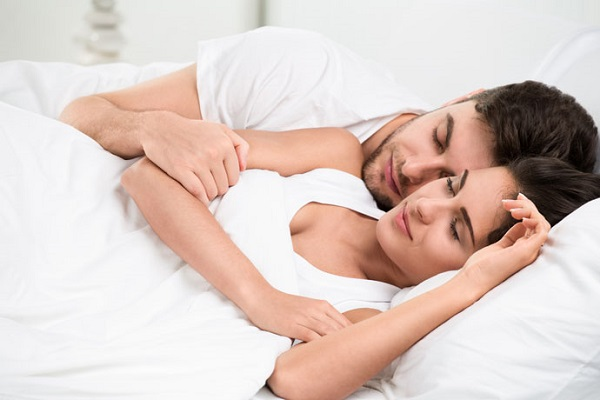 What does your sleep position say about your relationship?