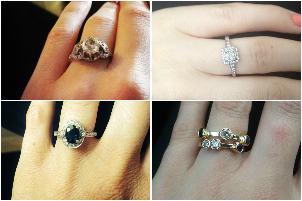 Ice, ice baby! Your engagement ring gallery