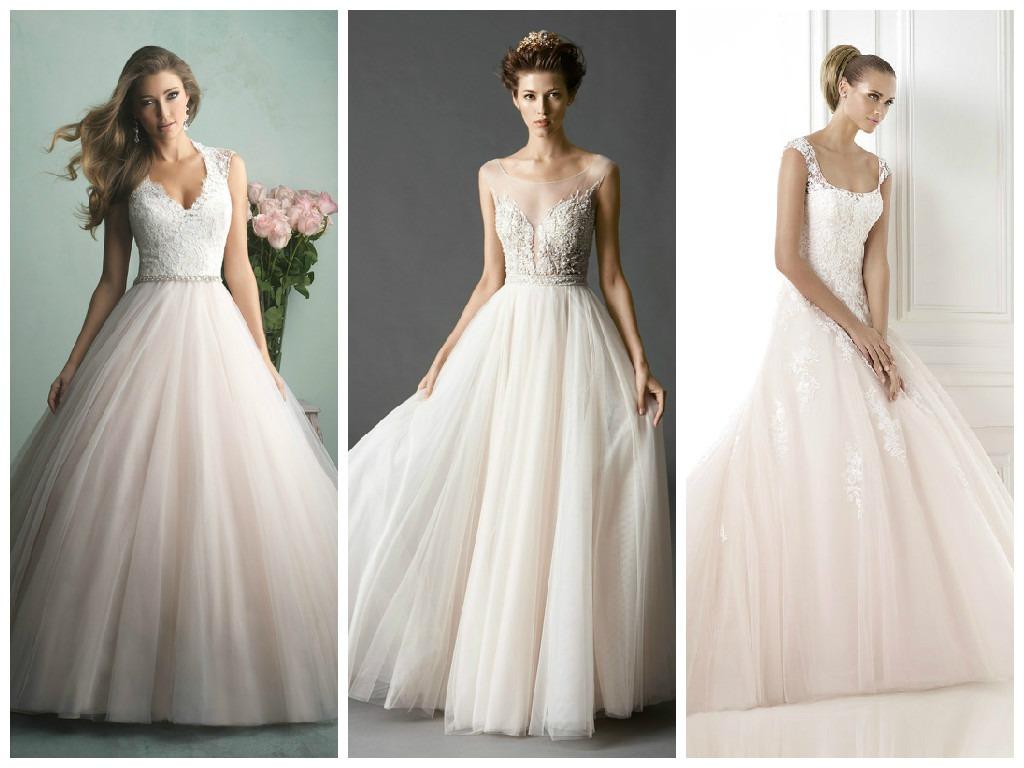 Perfect Pink Wedding Dresses