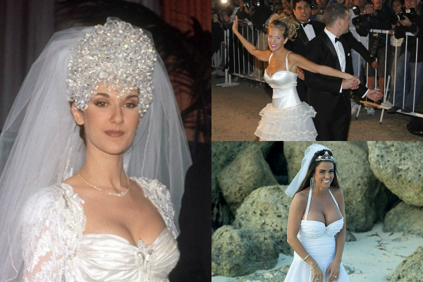Top ten worst celebrity wedding dresses ever