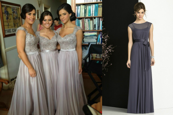 20 shades of grey bridesmaid dresses