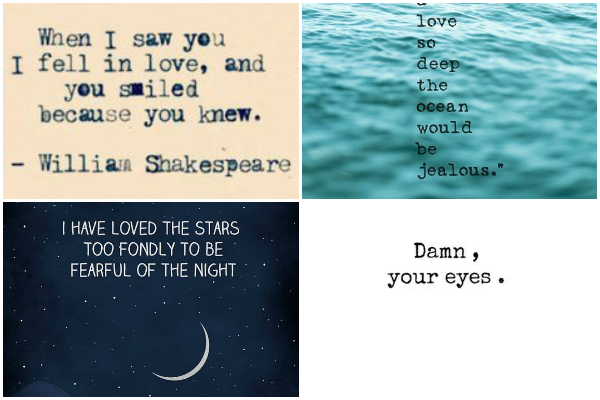 15 sickeningly soppy quotes about love (that you'll secretly like)