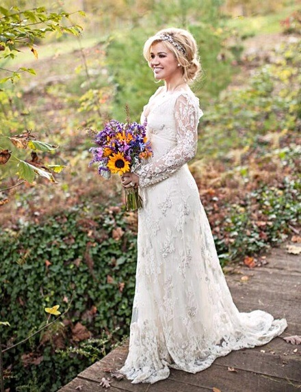 Best Celebrity Wedding Dresses 2