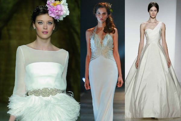 wedding dresses with sleeves and straps