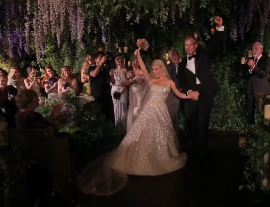 Watch Jessica Simpson's wedding video
