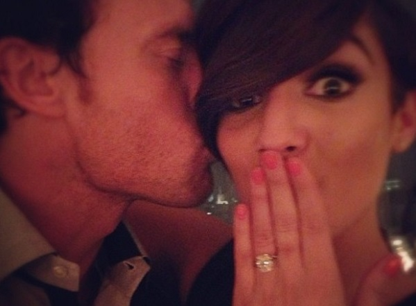 Saturday's singer Frankie Sandford ties the knot!