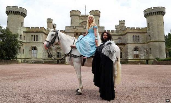Couple hold an incredible Game of Thrones wedding