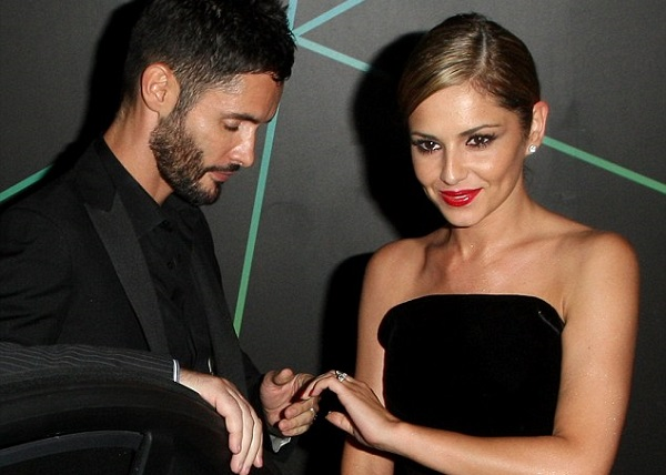 Cheryl Cole wears black for second wedding celebration