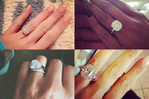 top 10 engagement ring selfies
