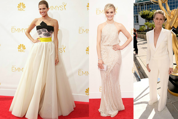 Bridal style at the Emmy Awards 2014
