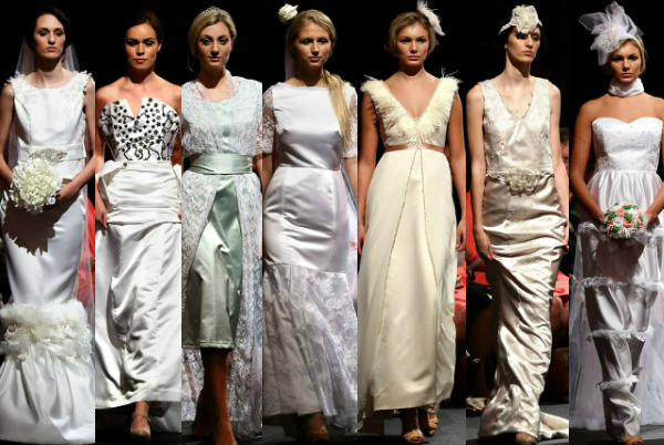 Wedding Journal Young Designer of the Year – the finalists on the catwalk