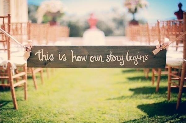 Top ten wedding sign ideas