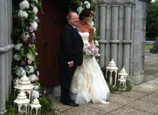 Xpose's Glenda Gilson looks stunning in her wedding dress