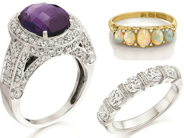 what your engagement ring says about you bohemian