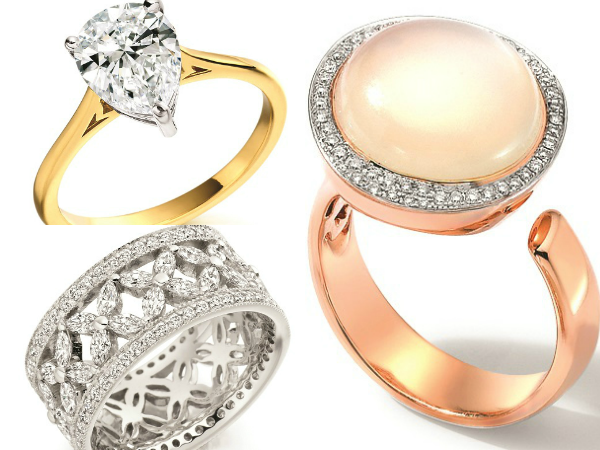 what your engagement ring says about you glamourous