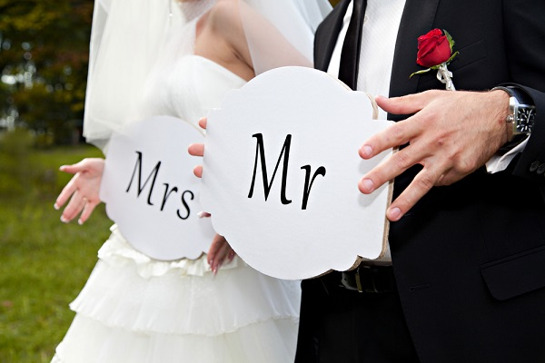 Mr & Mrs Wedding Survey